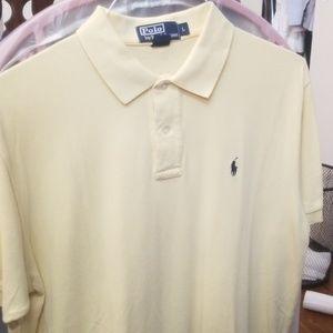 Polo by Ralph Lauren yellow L shirt